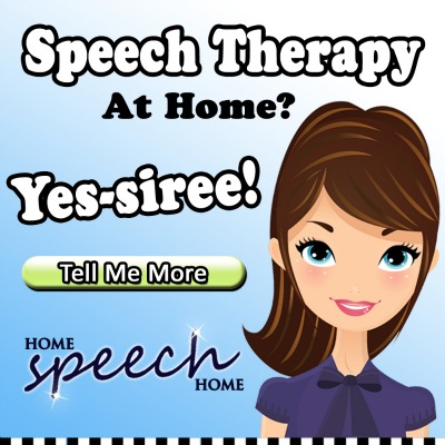 Speech Therapy at Home? Yes-siree!