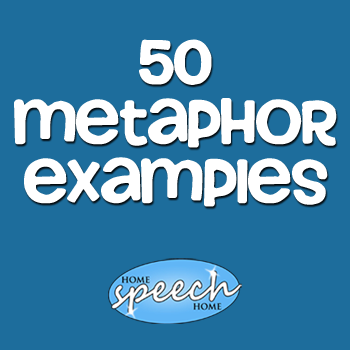 List of Metaphors (50) for Speech Therapy Practice