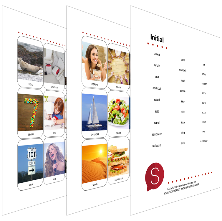 Get a Free Set of Initial /S/ Flashcards