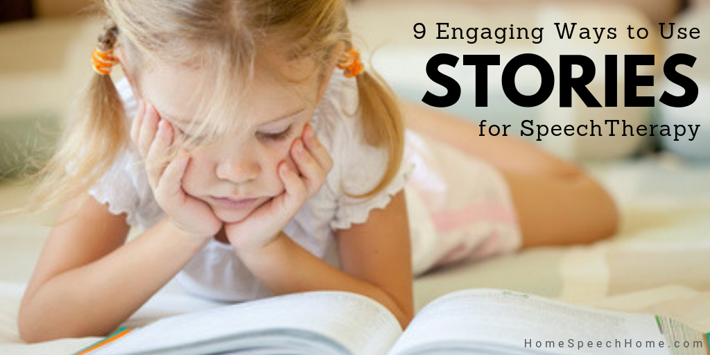 9 Engaging ways to use stories in speech therapy