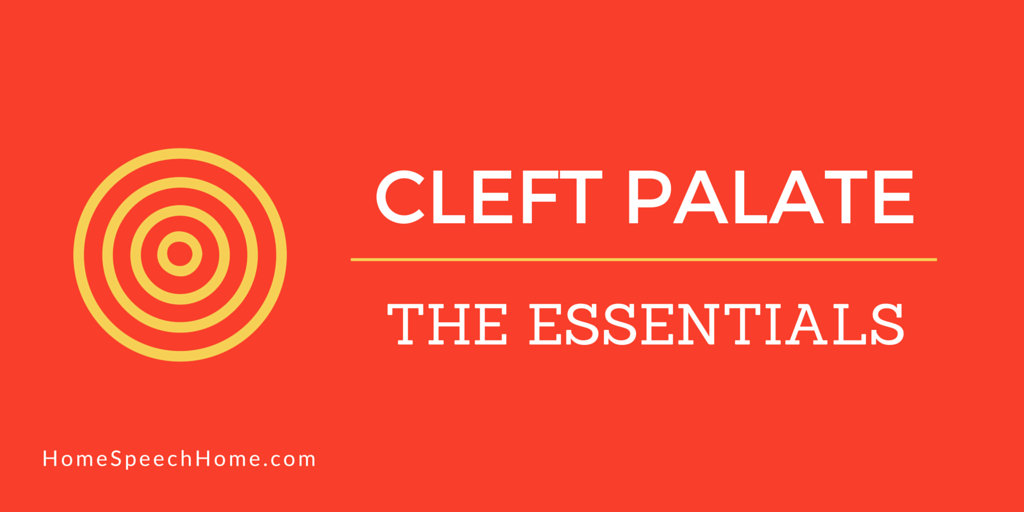 Cleft Palate Speech Therapy The Essentials