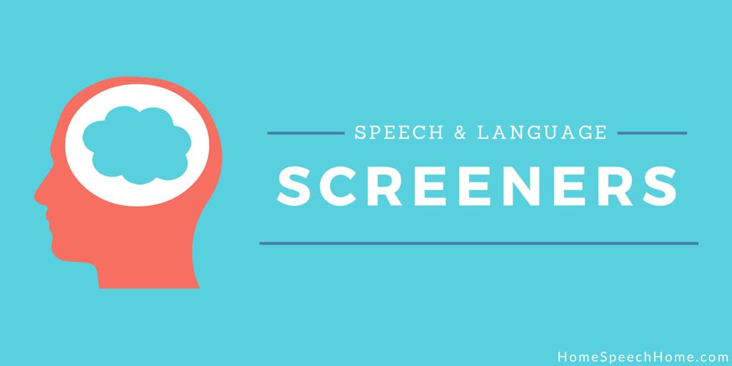 Online Speech & Language Screening | HomeSpeechHome.com