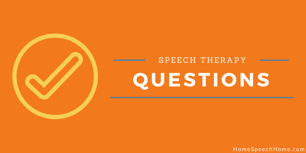 Have a Speech Therapy Question? Post it in our Forums for Worldwide Feedback