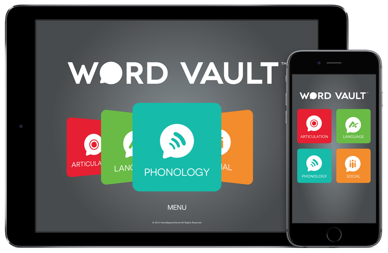 Word Vault App Preview | HomeSpeechHome