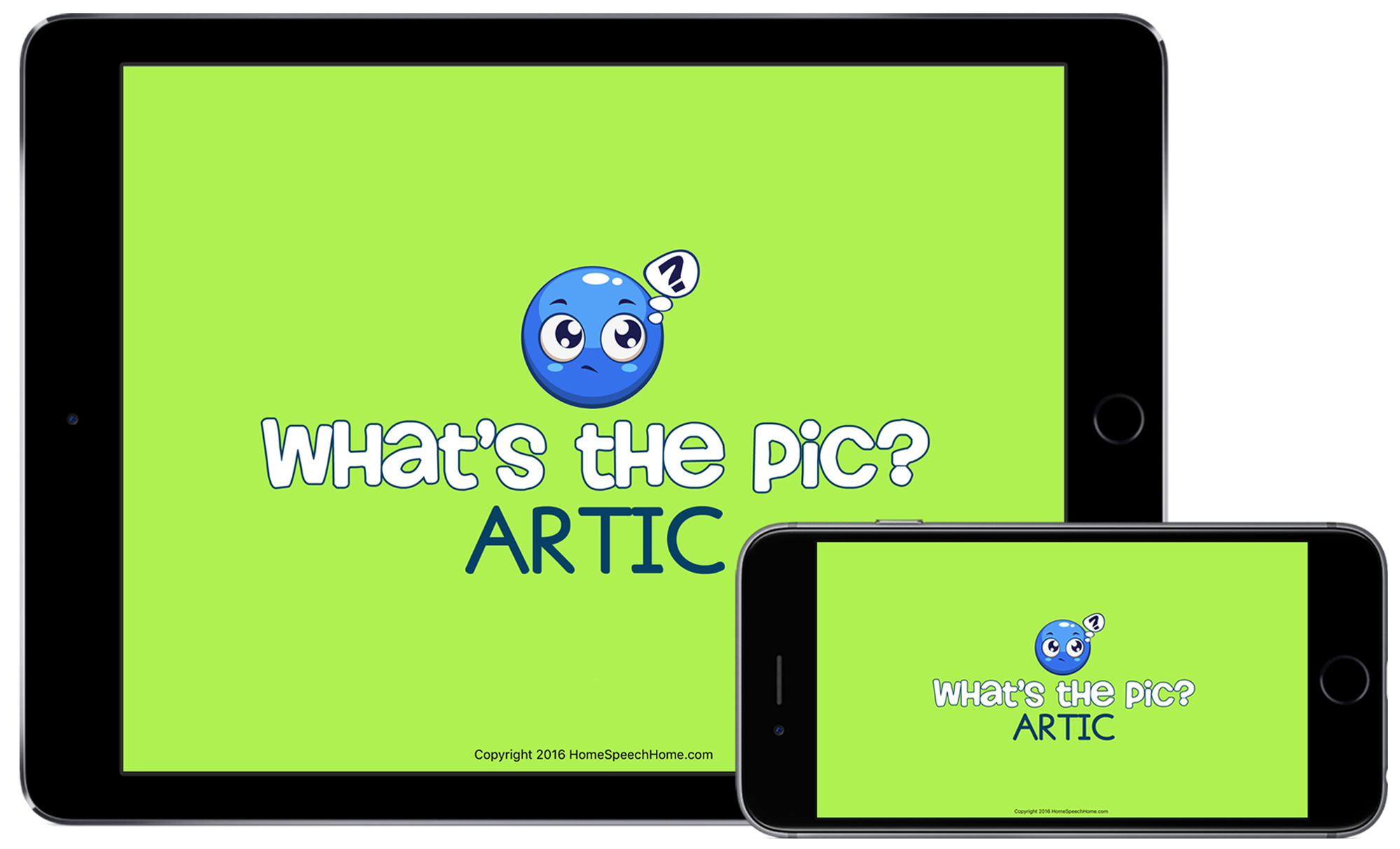 What's the Pic Articulation App | HomeSpeechHome