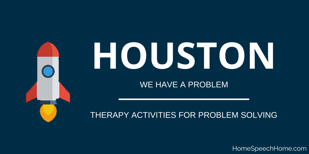 Houston We Have a Problem, Activities for Problem Solving
