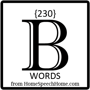 230+ B Words, Phrases, Sentences, and Reading Passages