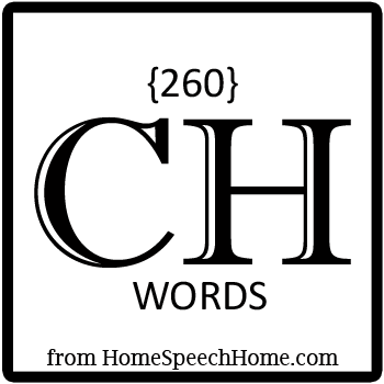 260+ CH Words, Phrases, Sentences, and Reading Passages