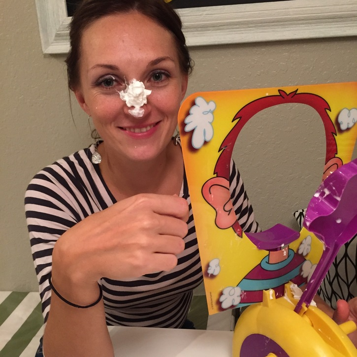 Using the Pie Face Game in Speech Therapy