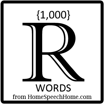 1000+ R Words, Phrases, Sentences, and Reading Passages Grouped by Place, Syllable, & Blend