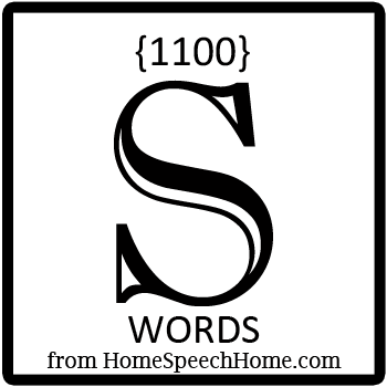 1100+ S Words, Phrases, Sentences, and Reading Passages Grouped by Place, Syllable, & Blend