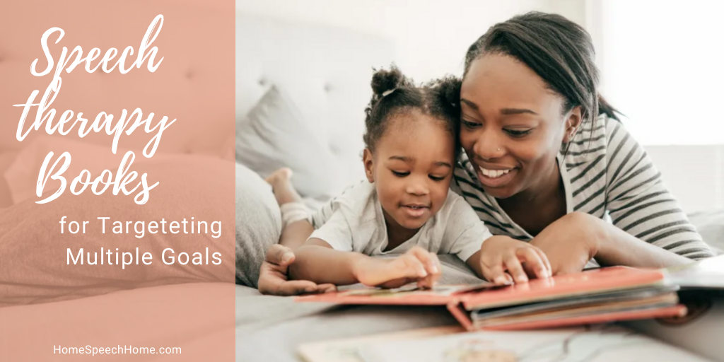 Speech therapy books for targeting multiple goals