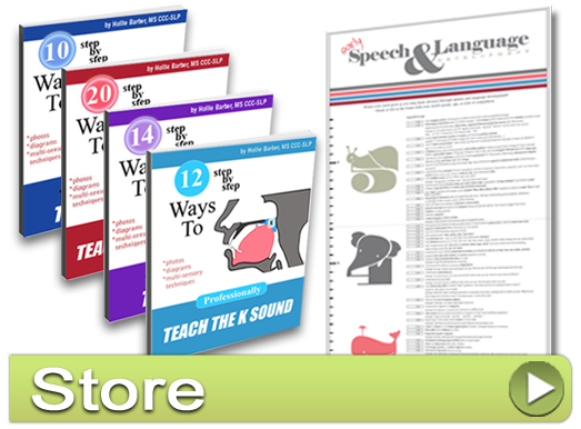 HomeSpeechHome's Speech Therapy Materials