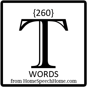 260+ T Words, Phrases, Sentences, and Reading Passages