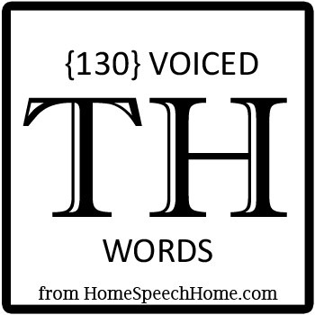 130+ Voiced TH Words, Phrases, Sentences, and Reading Passages