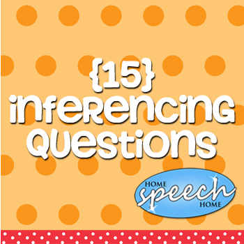 15 Inference Examples for Speech Therapy Practice