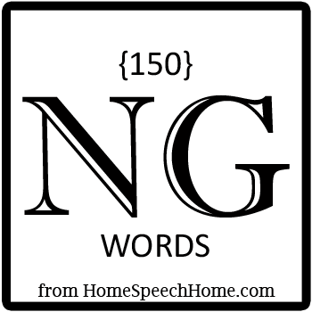 150+ NG Words, Phrases, Sentences, and Reading Passages