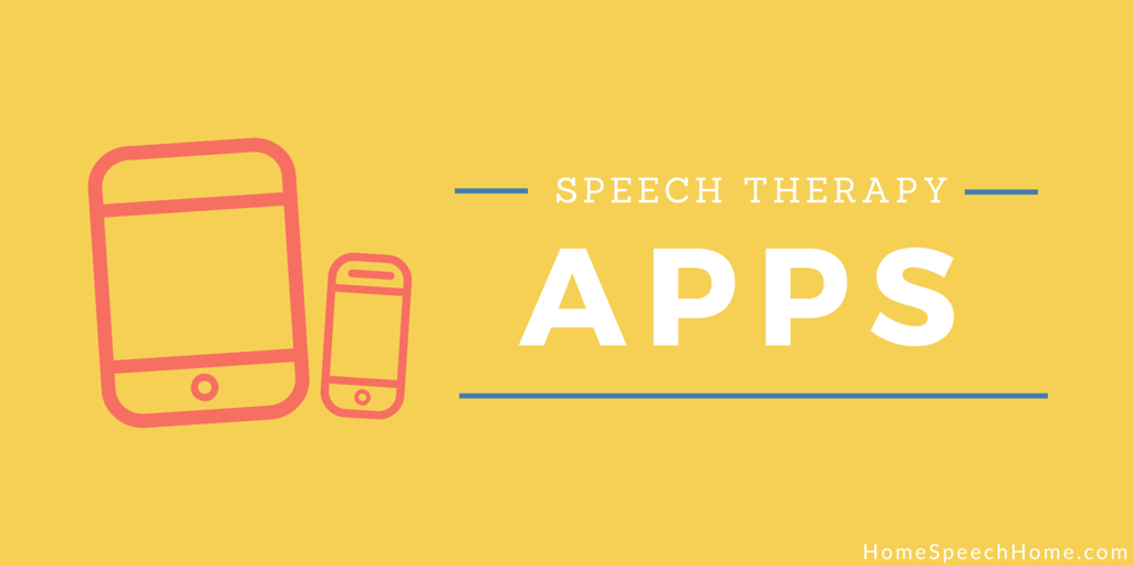 Speech Therapy Apps from HomeSpeechHome.com