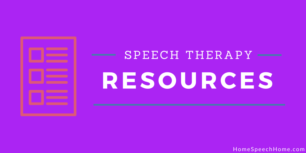 Free Speech Therapy Resources You Need Right Now