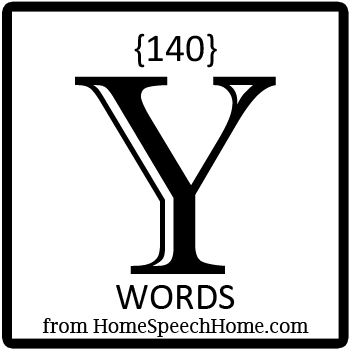 140+ Y Words, Phrases, Sentences, and Reading Passages